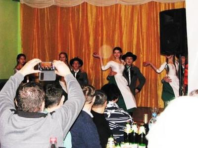 В Усть-Чорній для австрійських добродійників влаштували святковий концерт (ФОТО)